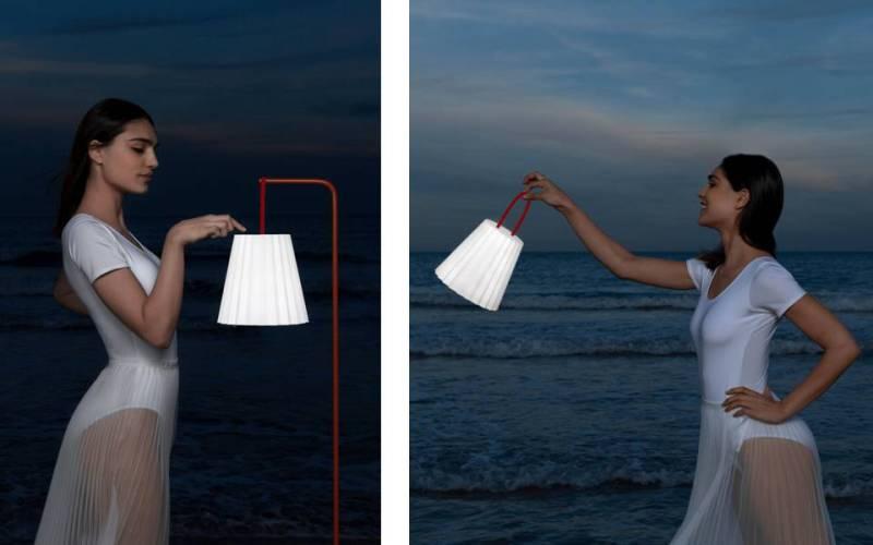 Lampada portatile da esterni