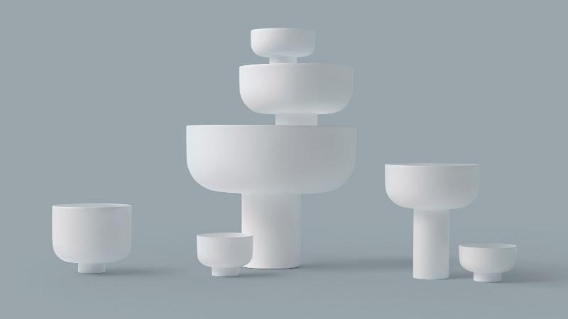 ciotole Fungi by Nendo