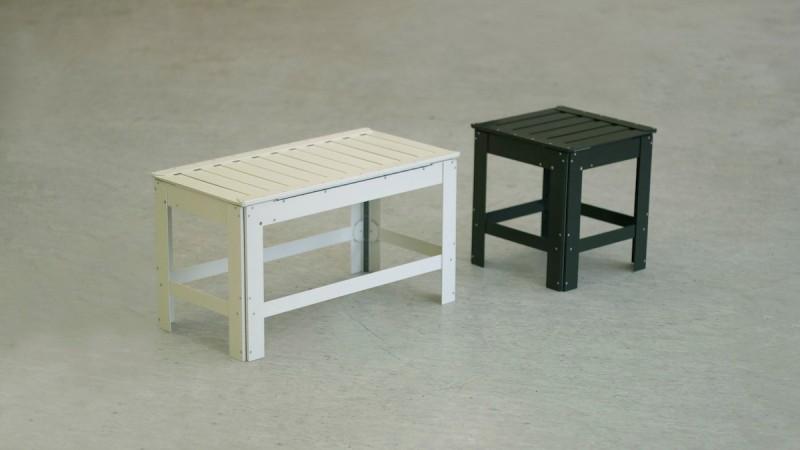 Sgabelli e tavolini