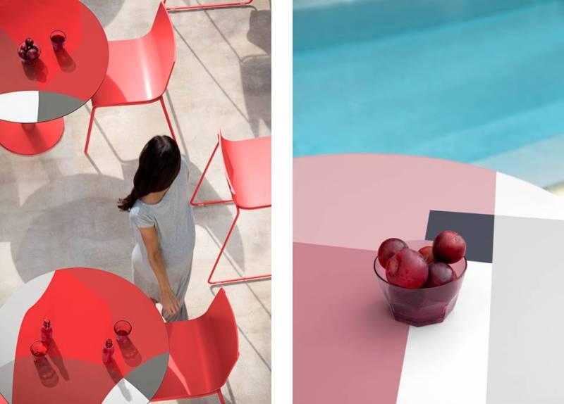 Tavolini Abstrakt Mona