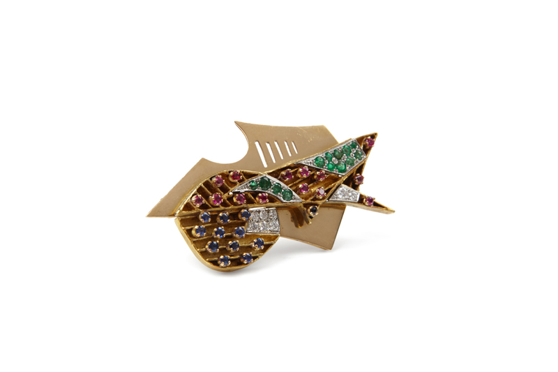 Gino Severini Brooch Didier Ltd