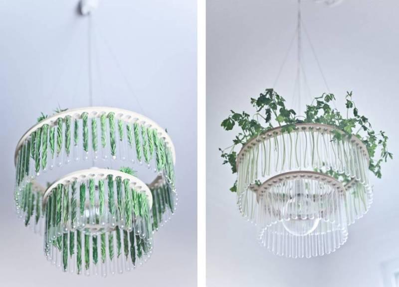 Maria S.C. chandelier