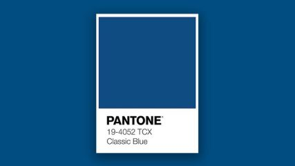 Pantone Colour of the Year - Classic Blue