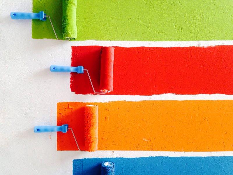 idee per pitturare la casa