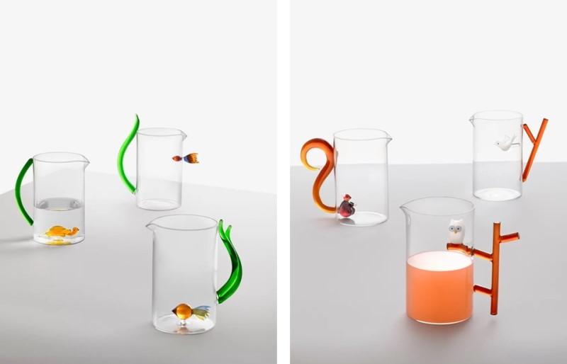 Brocche e bicchieri